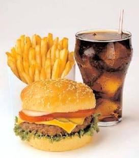 fasta food y comida basura