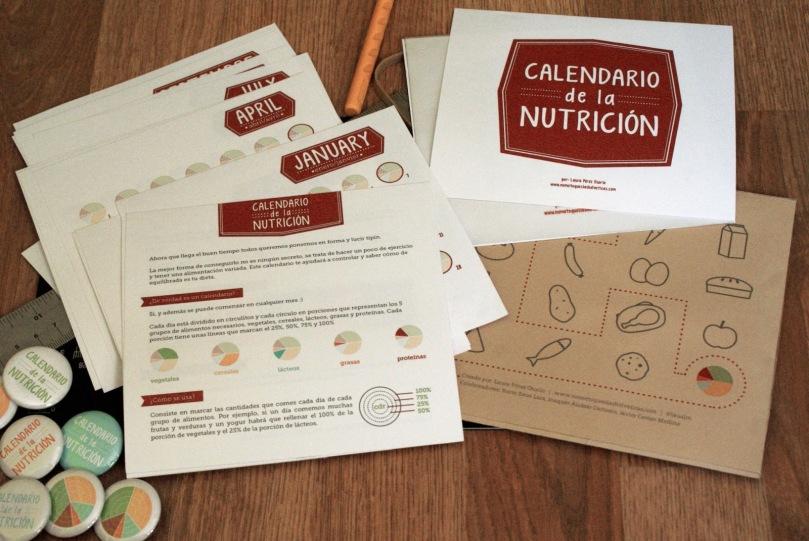 Calendario nutrición