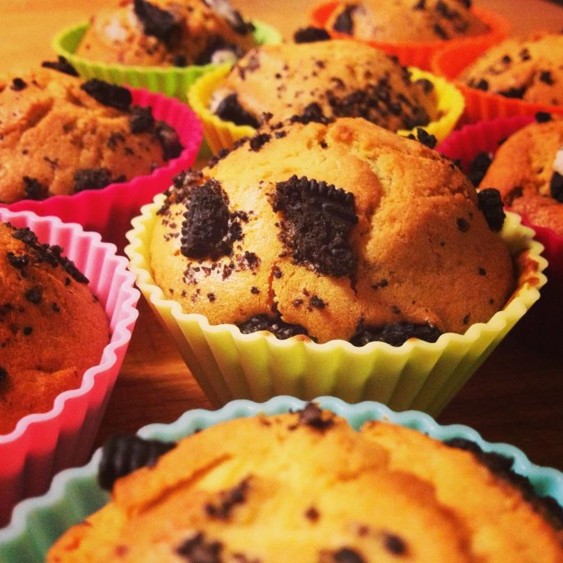Muffins Mascarpone Oreo