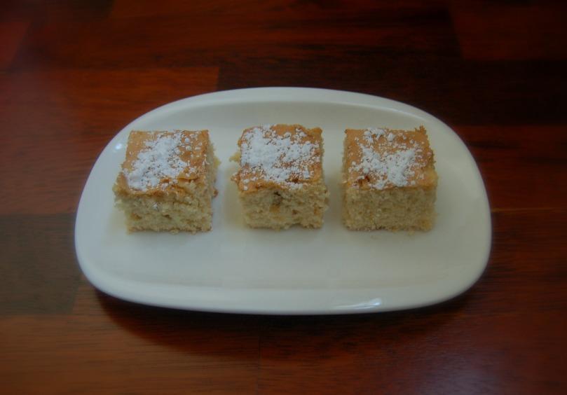 Brownie choco blanco