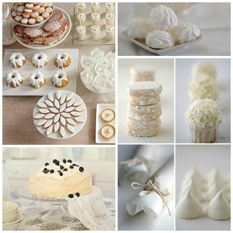 Collage recetas blanco