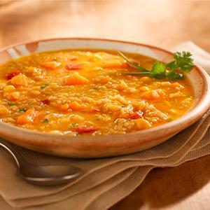 Sopa quinua