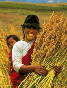 mujer quinoa