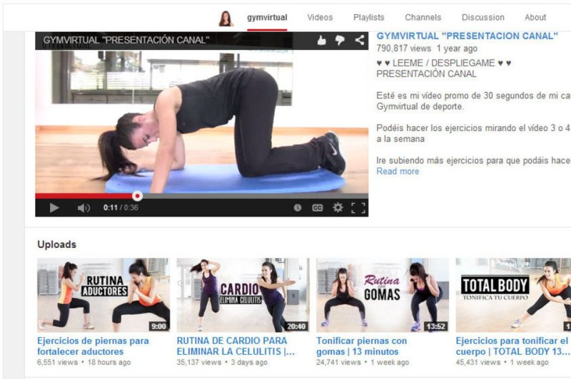 gymvirutal youtube
