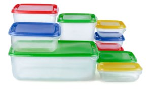 Tupperware food plastic containers