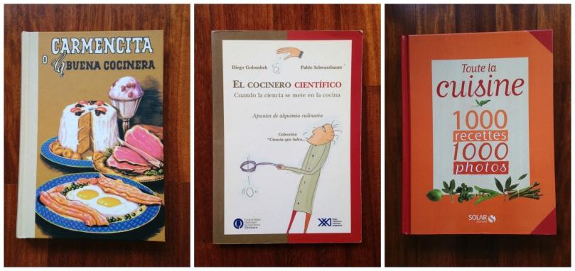 Libros cocina collage